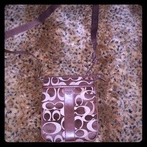 Coach leatherware  crossbody bag